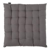 Подушка на стул из хлопка серого цвета из коллекции prairie TK20-CP0003