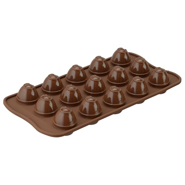 Форма для приготовления конфет choco spiral силиконовая