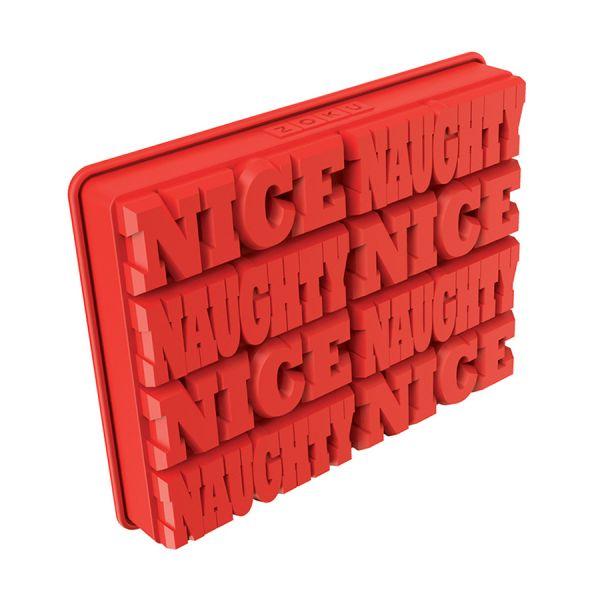 Форма для льда Naughty or Nice ZK138