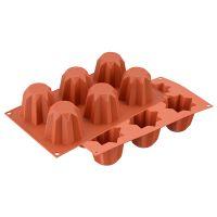 Форма для приготовления пирожных mini pandoro силиконовая 26.100.63.0065