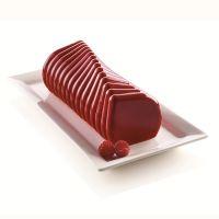 Форма для приготовления пирожных corallo 24,5 х 9 см силиконовая 20.399.13.0065