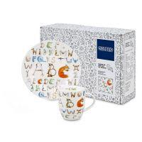 Набор Тарелка и чашка Алфавит 'ABC' Koenitz *11 5 035 1066/1