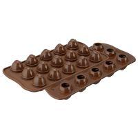 Форма для приготовления конфет choco spiral силиконовая 22.152.77.0165
