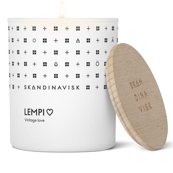 Свеча ароматическая lempi с крышкой, 200 г (новая) SK20105