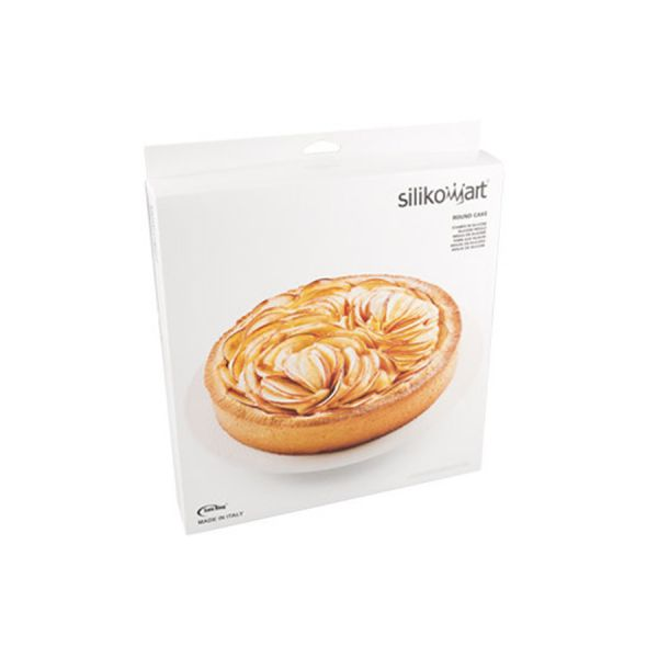 Форма для приготовления пирогов stampo rotondo 26 х 4,5 см силиконовая