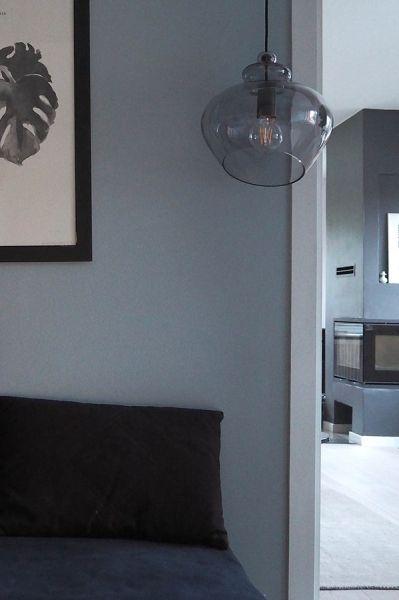 Лампа подвесная Grace, ?30 см, бронзовое стекло, бронзовый цоколь Frandsen 1487_19705001