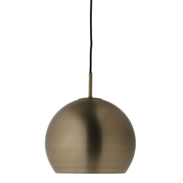Лампа подвесная ball, ?25 см, латунь в глянце 1370510500190