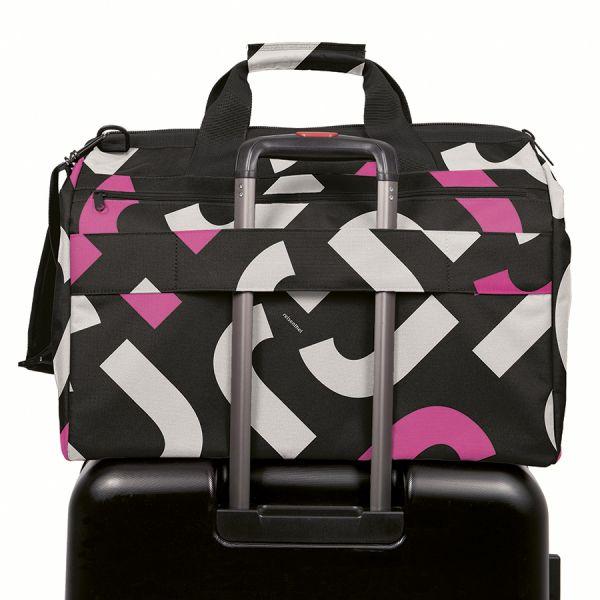 Сумка allrounder l pocket signature bold pink MK3069