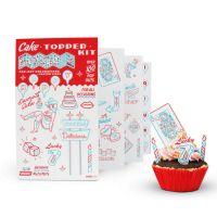 Набор украшений для торта Kit Suck UK SK TOPPERKIT1