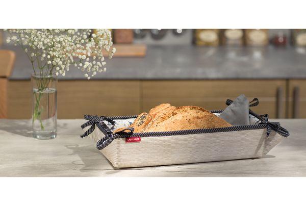 Хлебница Casy Home, 32х13х7 см, бежевая ВВ-032