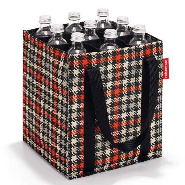 Сумка-органайзер для бутылок Bottlebag glencheck red ZJ3068