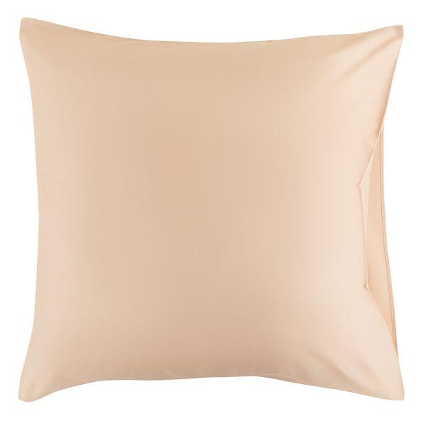 Набор из двух наволочек из сатина бежево-розового из коллекции essential, 70х70 см TK20-PC0030