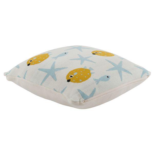 Подушка декоративная с принтом oceania world из коллекции tiny world 35х35 см TK20-KIDS-CU0002