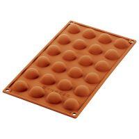 Форма для приготовления пирожных semisfera 17,5 х 23 см силиконовая