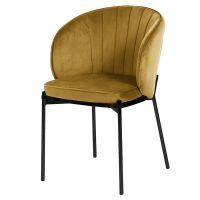 Кресло coral, велюр, светло-коричневое Berg BEAR-CO10886-BL