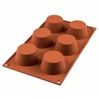 Форма для приготовления маффинов muffin 18 х 33,5 см силиконовая