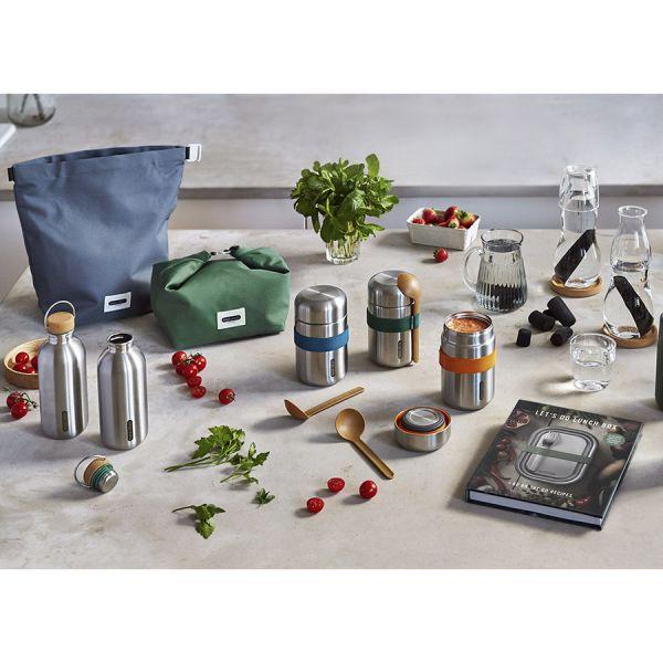 Термос для еды food flask b, 400 мл, оранжевый BAM-FFB-S003