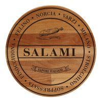 Доска сервировочная 'SALAMI' 30x30x1,9 см BISETTI 26801