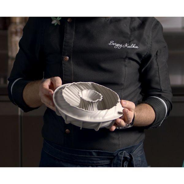 Форма для приготовления пирогов и кексов intreccio 21 х 7 см силиконовая 20.384.13.0065