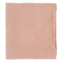 Одеяло из жатого хлопка цвета пыльной розы из коллекции essential 90x120 см TK20-KIDS-BLK0003