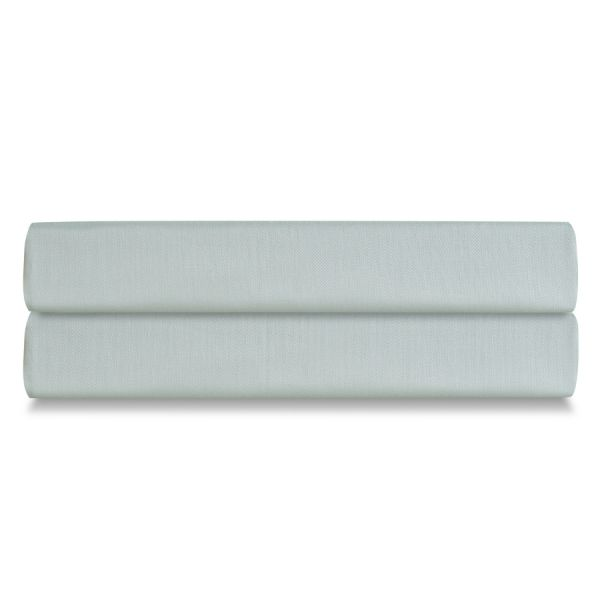 Простыня на резинке из сатина мятного цвета из коллекции wild, 180х200х30 см TK20-FS0014