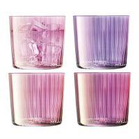 Набор из 4 стаканов Gems 310 мл гранат LSA International G060-09-149