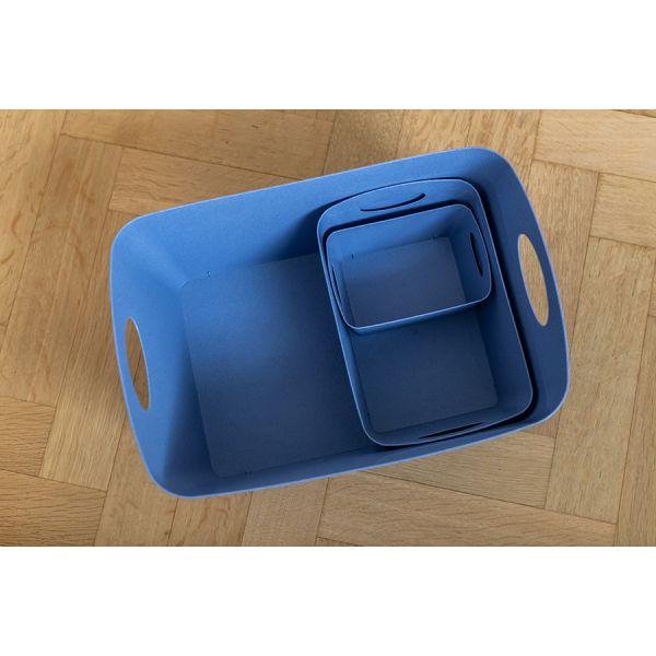 Контейнер для хранения boxxx l organic 15 л синий 5743671