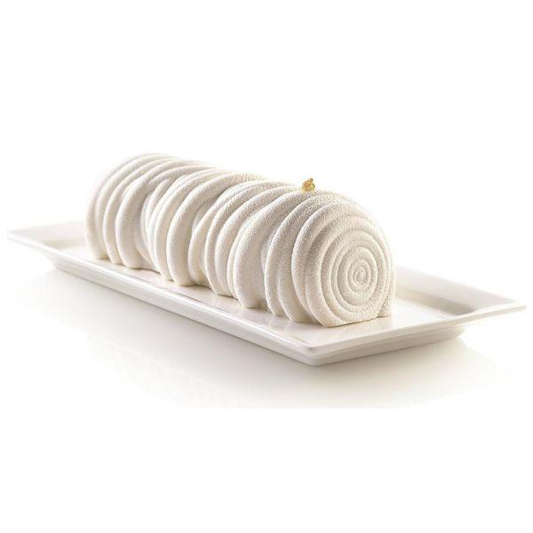 Форма для приготовления пирожного lana 24,5 х 9,5 см силиконовая
