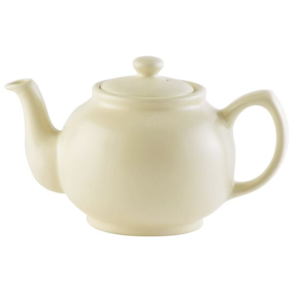 Чайник заварочный matt glaze 1,1 л кремовый