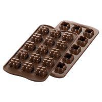 Форма для приготовления конфет choco game 11 х 24 см силиконовая 22.151.77.0165