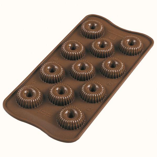Форма для приготовления конфет choco crown 11 х 24 см силиконовая