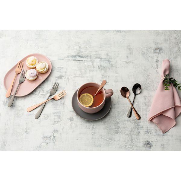 Набор из 4 чайных ложек select grey v_0304.074