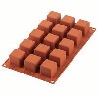 Форма для приготовления пирожных cube 3,5 х 3,5 см силиконовая 26.105.00.0065