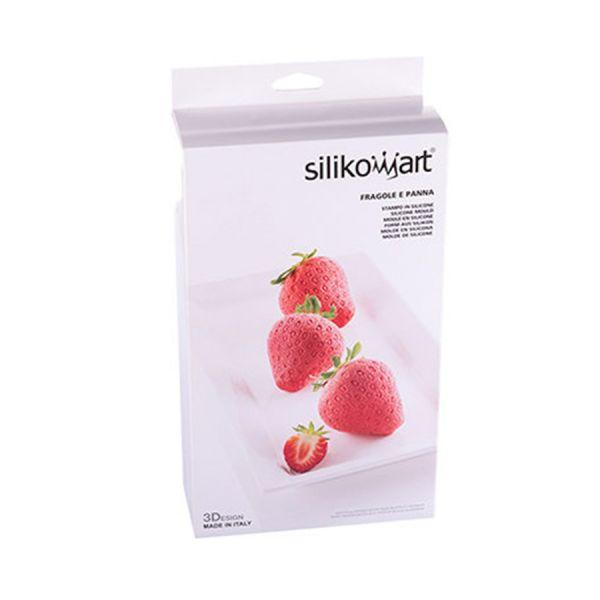 Форма для приготовления пирожных fragole e panna силиконовая