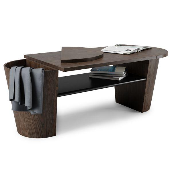 Столик кофейный woodrow темный орех 1013761-048