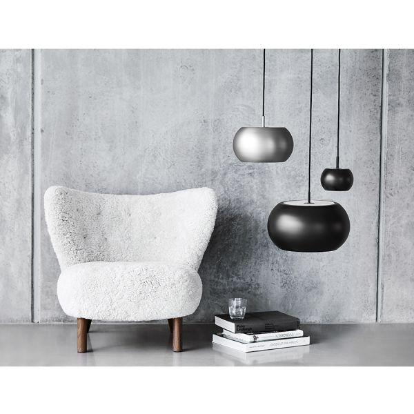 Лампа подвесная bf 20 ?38 см, черная матовая 118466