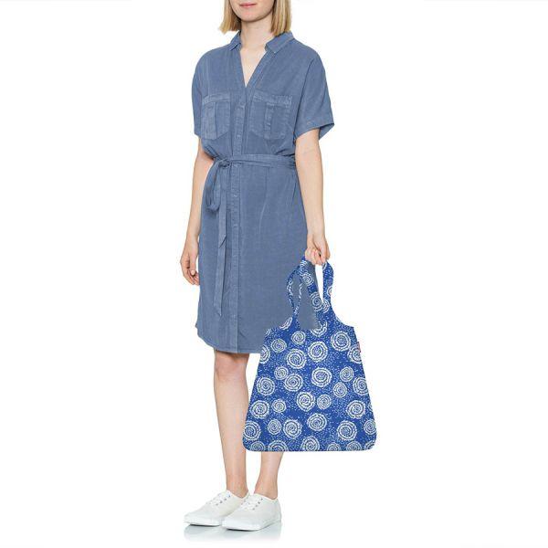 Сумка складная mini maxi shopper batik strong blue AT4070