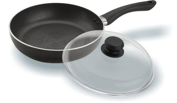 Сковорода с крышкой 28 см VITESSE VS-1157