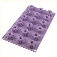 Форма для приготовления пирожных и кексов charlotte 18 х 33,5 см силиконовая