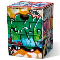 Табурет картонный сборный Graffiti PH30