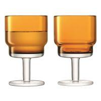 Набор из 2 бокалов для вина Utility, 220 мл, охра G1547-08-835