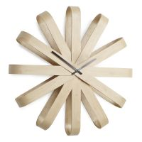 Часы настенные Ribbon дерево 118071-390