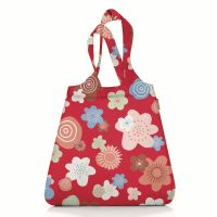 Сумка складная mini maxi shopper flowers red