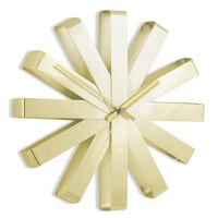 Часы настенные Ribbon латунь 118070-104