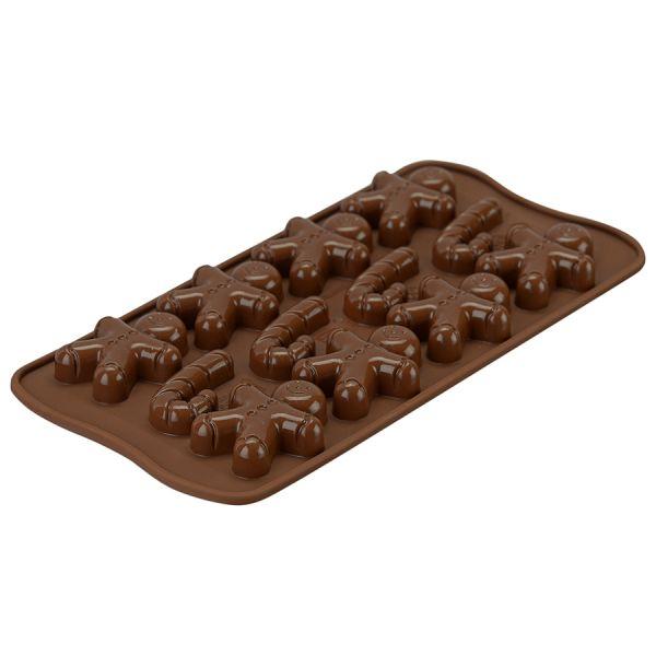 Форма для приготовления конфет mr ginger силиконовая