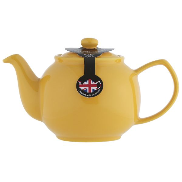 Чайник заварочный bright colours 1,1 л горчичный