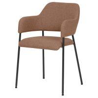 Кресло berg, wendy, 54х53х82,5 см, терракота BECH-WEVTEX08