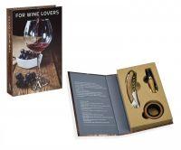 Набор аксессуаров для вина дуб и хром ANDREA HOUSE CC66178