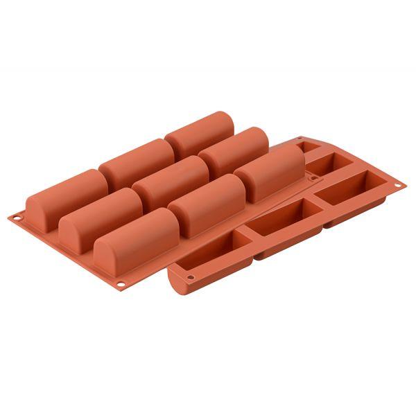 Форма для приготовления пирожных и конфет midi buche силиконовая