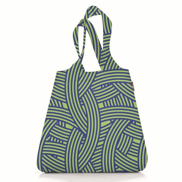 Сумка складная mini maxi shopper zebra green AT0033G